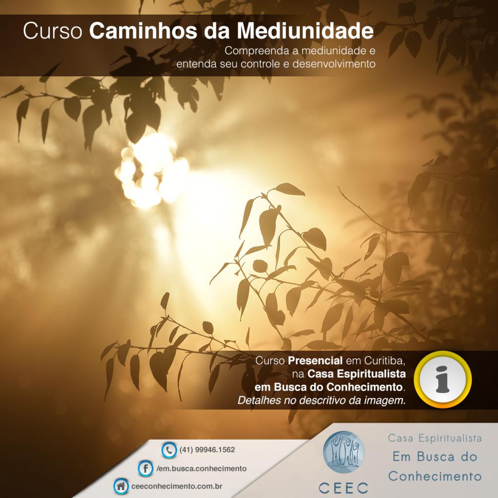 POST CURSO CAMINHOS DA MEDIUNIDADE 01